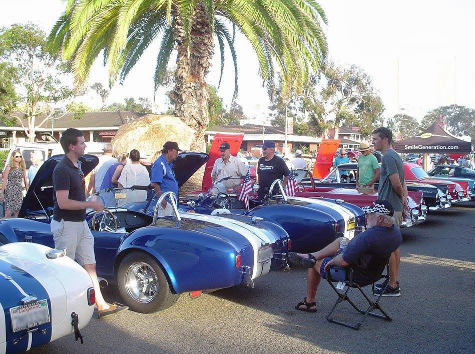 Classic Car Night - Downtown Encinitas Main Street
